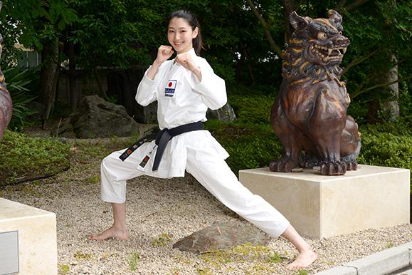 是永瞳 6月14日 「TOKYO2020 オリンピック空手スペシャルアンバサダー」任命式に出席!