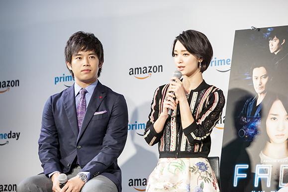 【剛力彩芽】7月10日「Amazonプライムデー」記者発表会に出席!