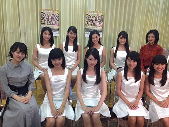 【ご視聴ありがとうございました!】第15回全日本国民的美少女コンテストグランプリ&各賞受賞者がSHOWROOMに登場!