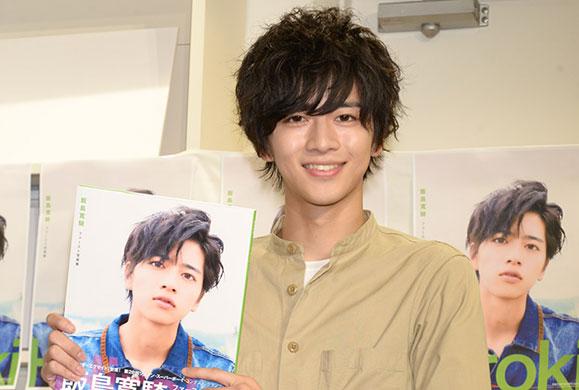 【飯島寛騎】9月2日「飯島寛騎ファースト写真集 Hiroki」の発売記念イベントに出席!