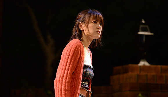 福田沙紀 10月31日 タクフェス第5弾「ひみつ」公開ゲネプロと囲み取材に出席!