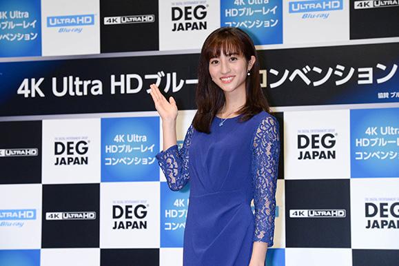 堀田茜 11月21日「4K Ultra HDブルーレイコンベンション」トークショーに出席!