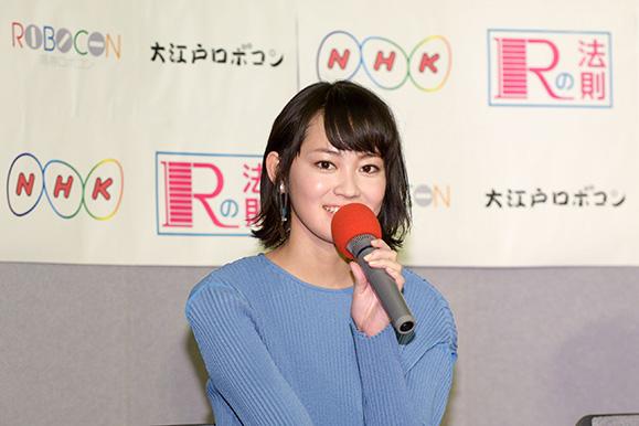 吉本実憂 11月17日「大江戸ロボコン」の試写会に出席!