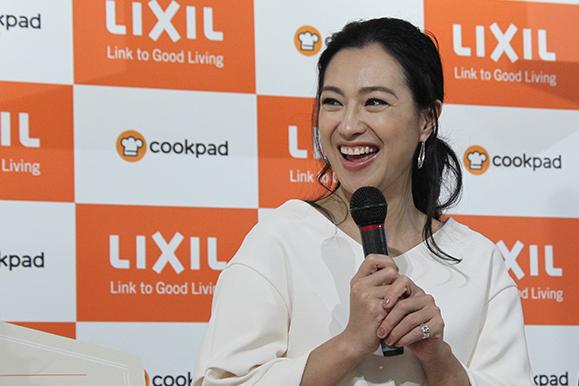 【堂珍敦子】3月1日 LIXIL「セラミックトップキッチン  新『リシェルSI』発売記念イベント」に出席!