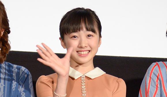 【本田望結】4月21日 映画「リズと青い鳥」の初日舞台挨拶に出席!