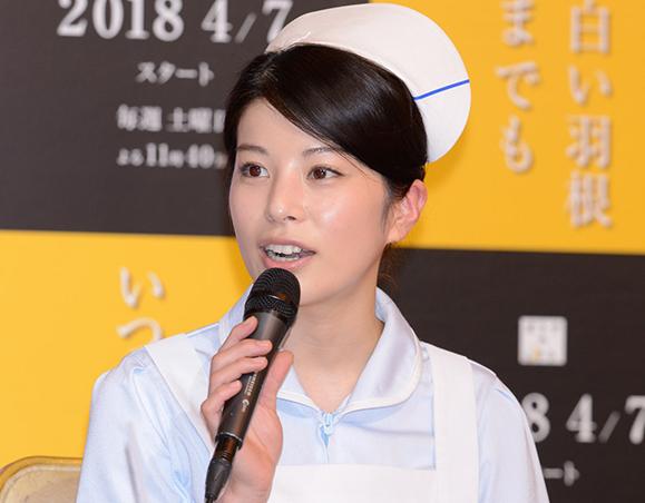 【さとうほなみ】4月5日「いつまでも白い羽」制作発表会見に出席!