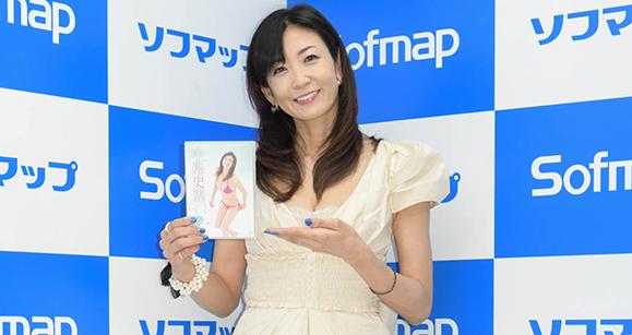 【中島史恵】5月12日 DVD「50~fifty love~」発売イベント!