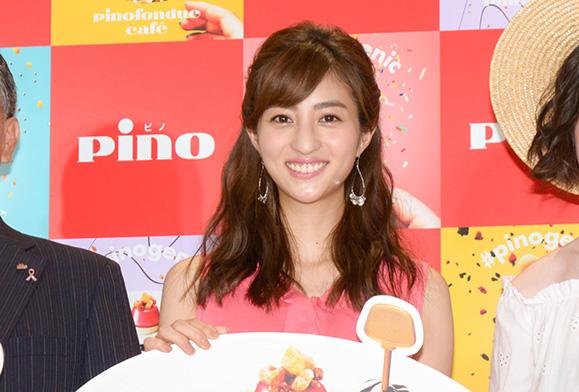 堀田茜 7月6日「pinofondue café」オープニング記念セレモニーに出席!