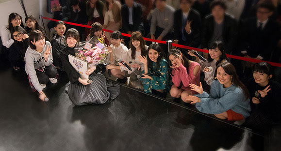 【X21】10月25日「新生X21CDメンバー 藤江萌お披露目イベント」が開催されました!