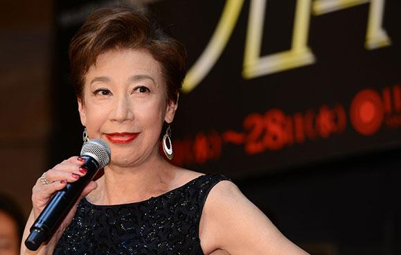 前田美波里 11月10日「ブロードウェイと銃弾」制作発表記者会見に出席!