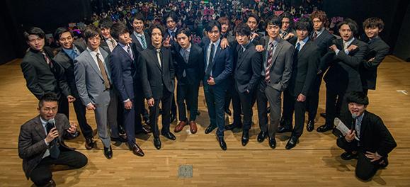 【男劇団 青山表参道X】3月12日 ファンイベント「男劇団 青山表参道X 3rd Fan Event ~Happy White Day 2018~」が開催しました!