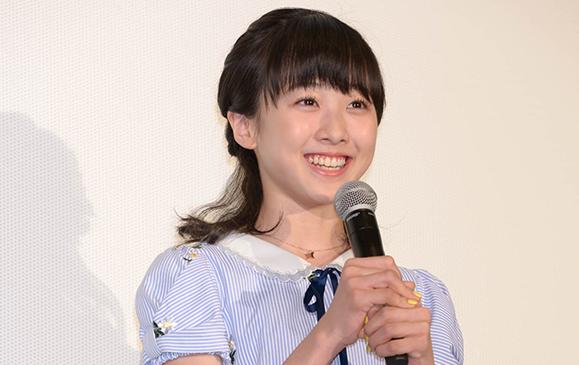 【本田望結】4月4日映画「リズと青い鳥」完成披露試写会に出席!