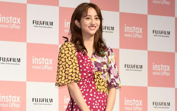 【堀田茜】6月12日 富士フイルム新商品「instax mini LiPlay」の発表会に出席!