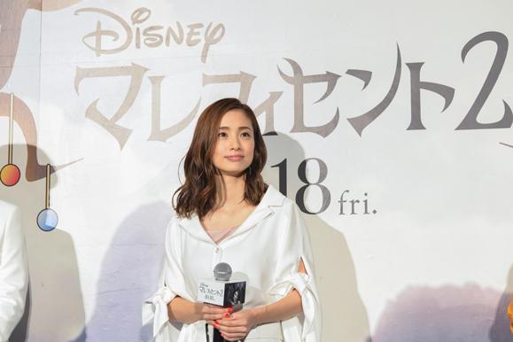 【上戸彩】10月14日 映画「マレフィセント2」吹き替え版完成披露試写会に出席!