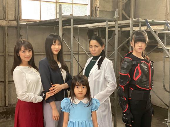 【elfin'】【花房里枝・辻美優】12月25日 千葉テレビ ドラマ「センチネル2」出演決定!