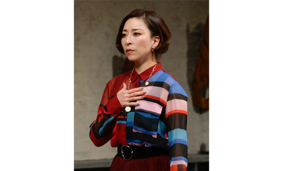 【真矢ミキ】11月28日 舞台「正しいオトナたち」公開ゲネプロが行われました!