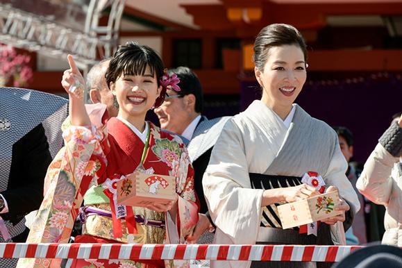 【真矢ミキ・井頭愛海】2月3日 日枝神社「節分祭」に参加しました!