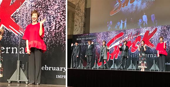 【前田美波里】2021年2月~3月 ミュージカル『Endless SHOCK ーEternal-』製作発表に出席!