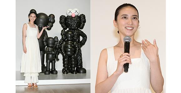 【武井咲】7月15日(木)展覧会『KAWS TOKYO FIRST』のイベントに出席!